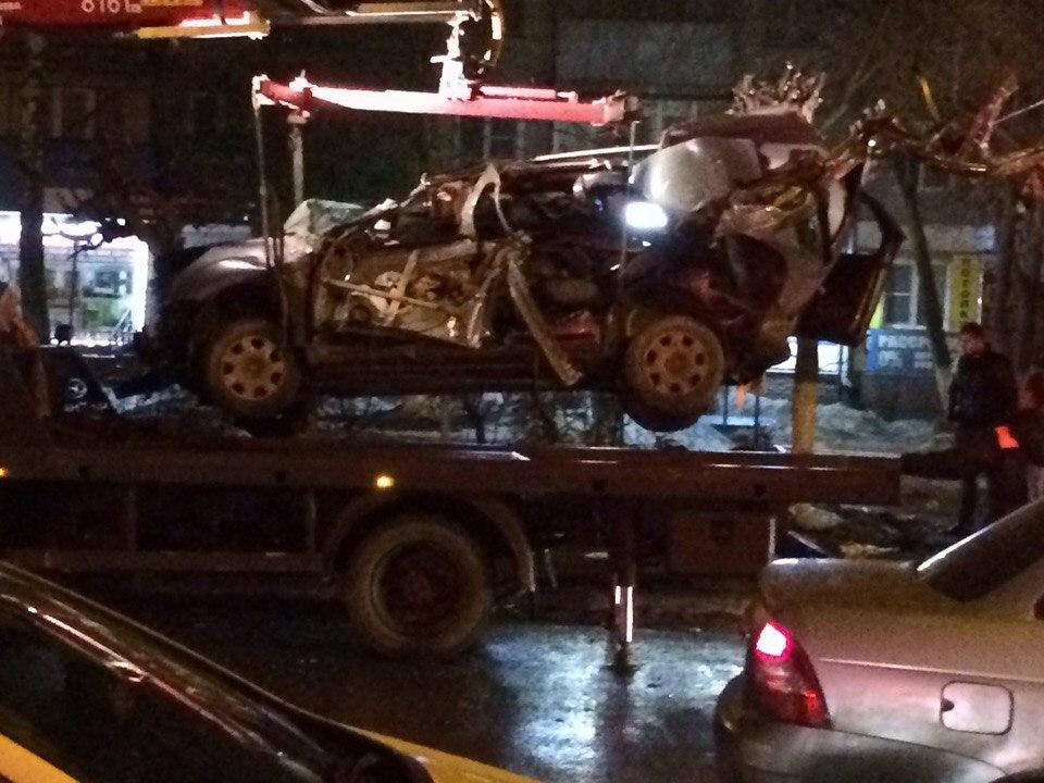 ВНижнем Новгороде шофёр  без прав умер  врезультате дорожно-траспортного происшествия