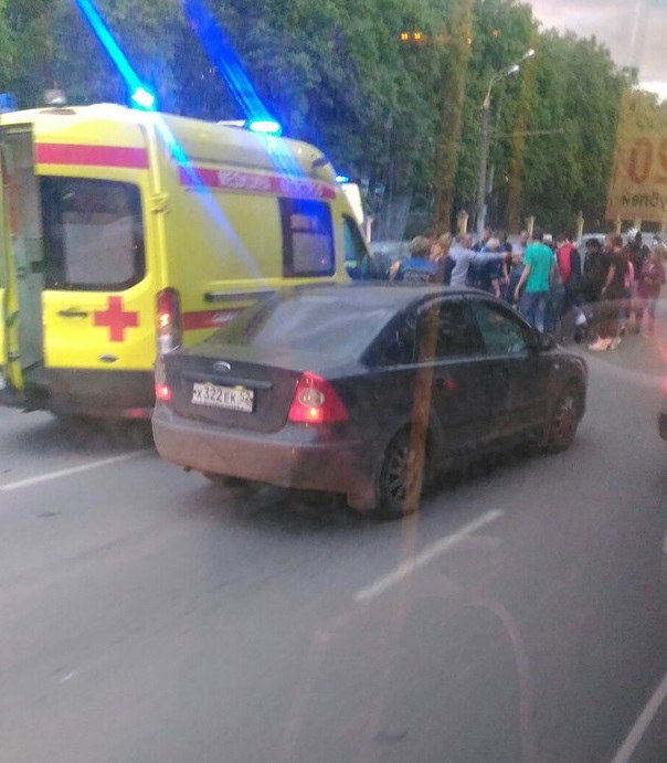 Мотоциклист умер напроспекте Гагарина вНижнем Новгороде