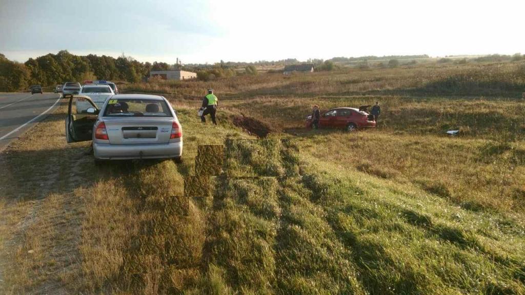 «Форд» опрокинулся вкювет вНижегородской области— двое вынуждены прибегнуть кпомощи медиков