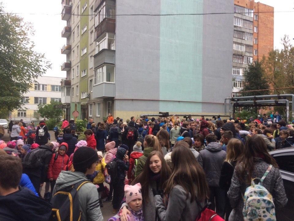 ВНижнем Новгороде экстренно эвакуируют детей изшкол