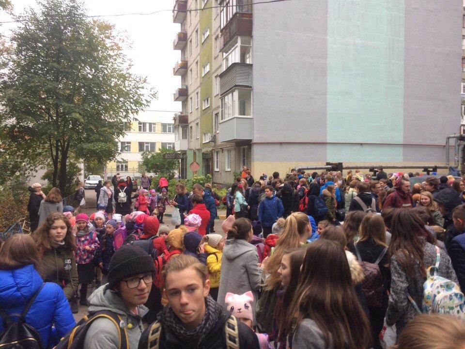 ВНижнем Новгороде полыхает строящийся стадион наСтрелке
