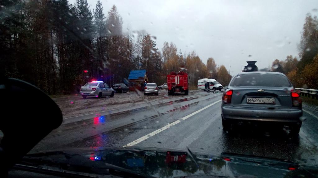Два человека погибли встрашном ДТП вСемёновском районе