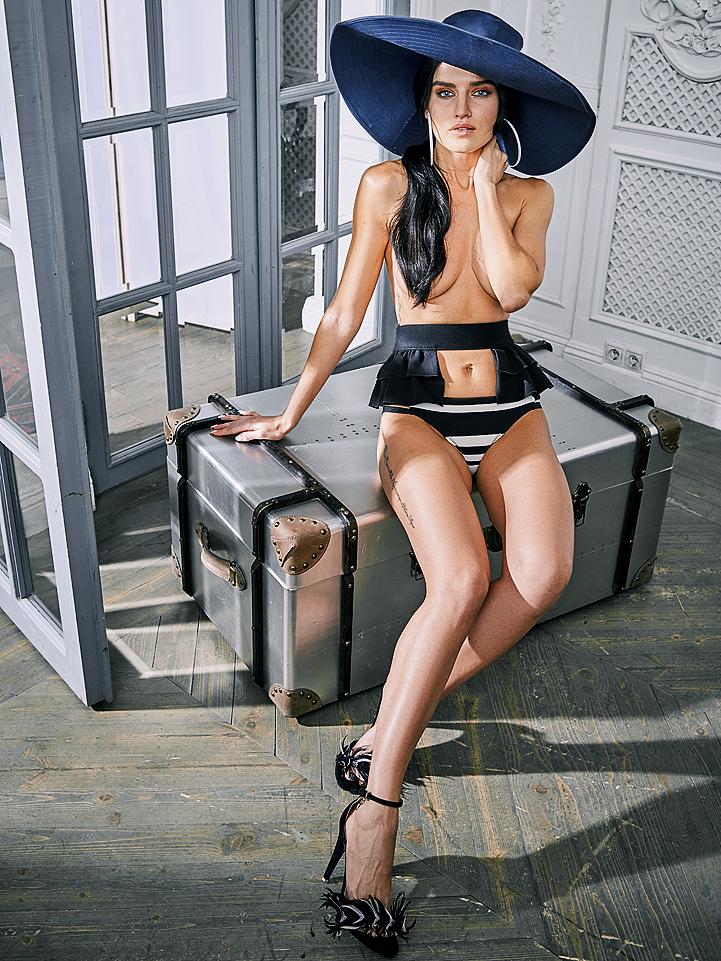 """Юлия Анисимова на конкурсе """"Девушка года Playboy"""""""