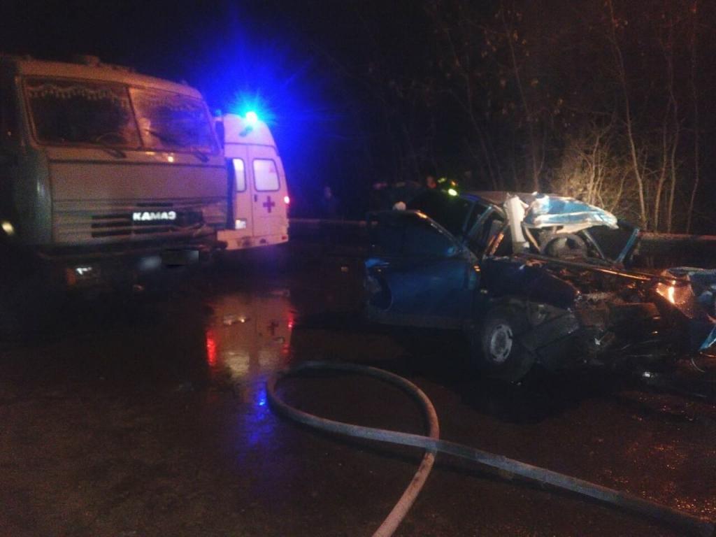 смертельная авария в Бутурлино