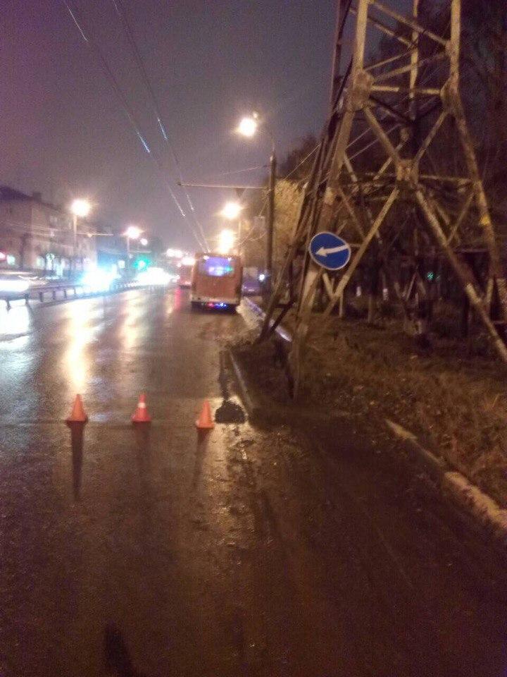 авария на проспекте Героев