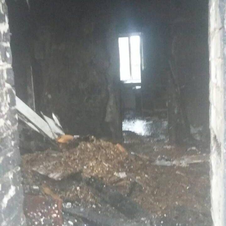 пожар в Нижегородской области 12 ноября