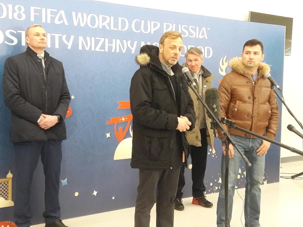 ФИФА: «Нижний Новгород— это один большой объект подготовки кЧМ-2018».