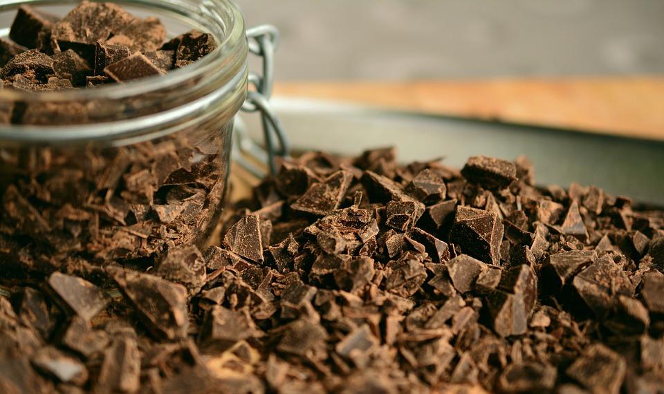 черный шоколад, сладкое