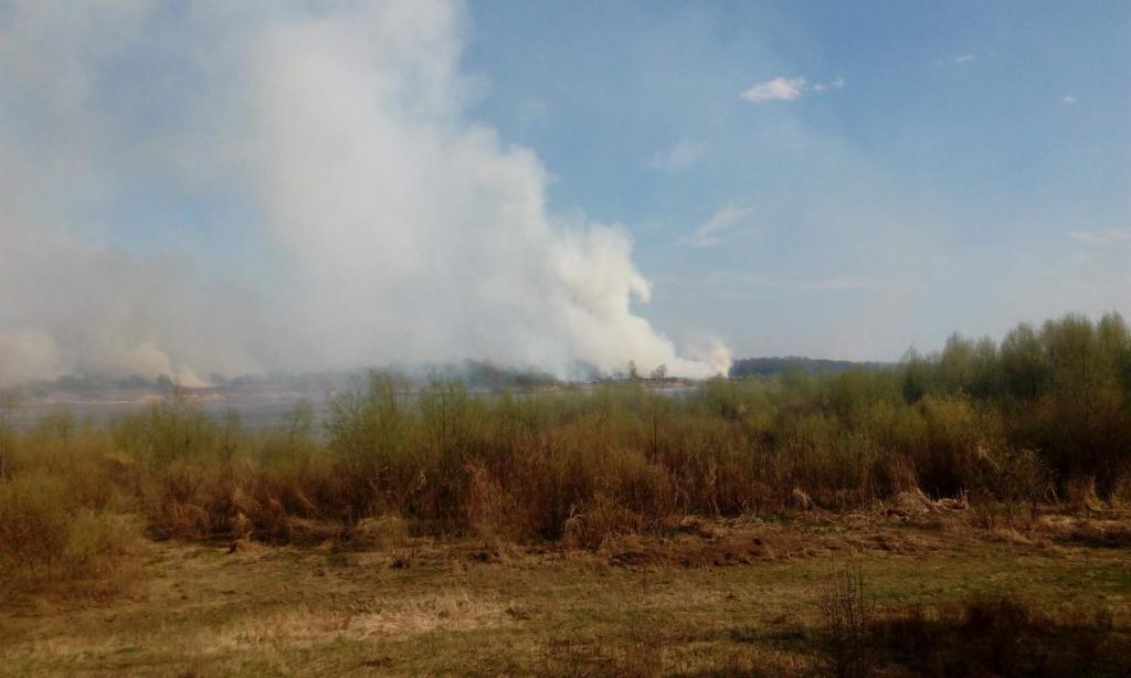 фото пожара в нижегородской области