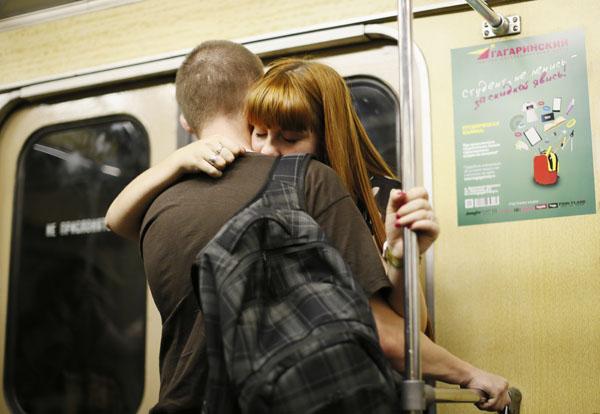 Женщин лапают в транспорте япония