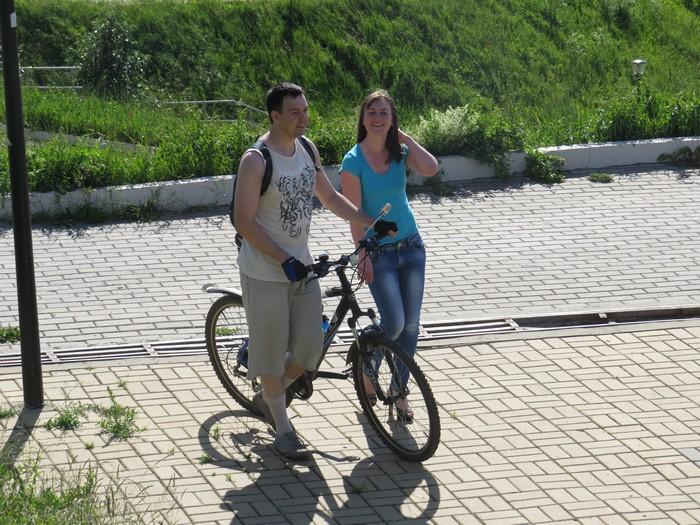 как знакомиться велосипеде на