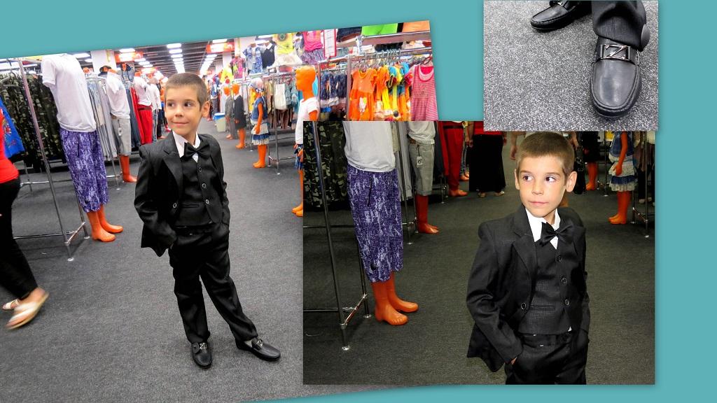 6762a3089a50 Кстати, к этому костюму подойдет как бабочка, так и галстук любого цвета,  которые также представлены в ассортименте магазина «Планета одежда обувь».