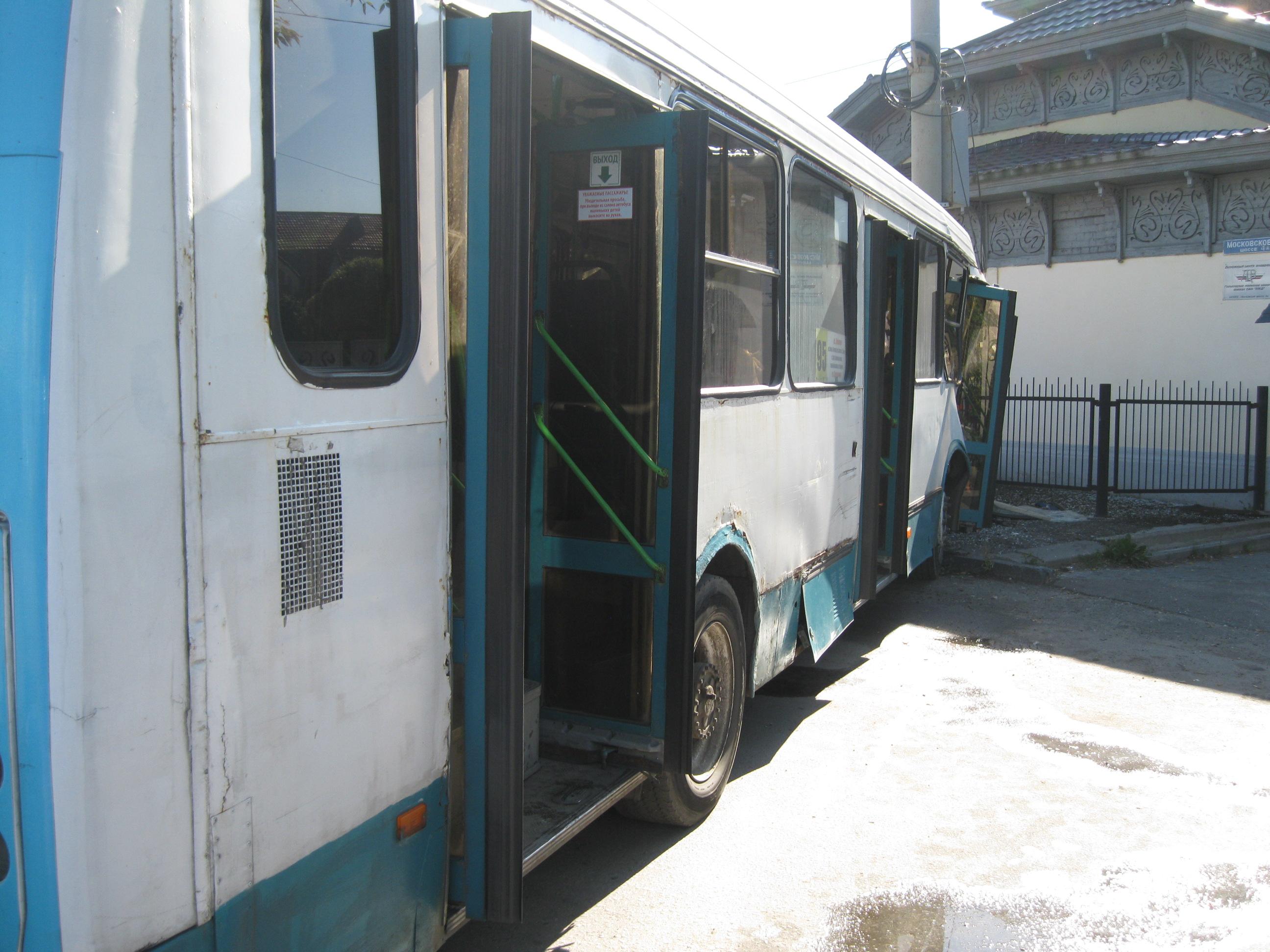 Пятеро нижегородцев пострадали вДТП сучастием автобуса