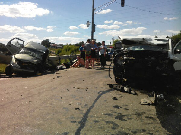 ВНижегородской области вДТП два человека погибли ипятеро пострадали