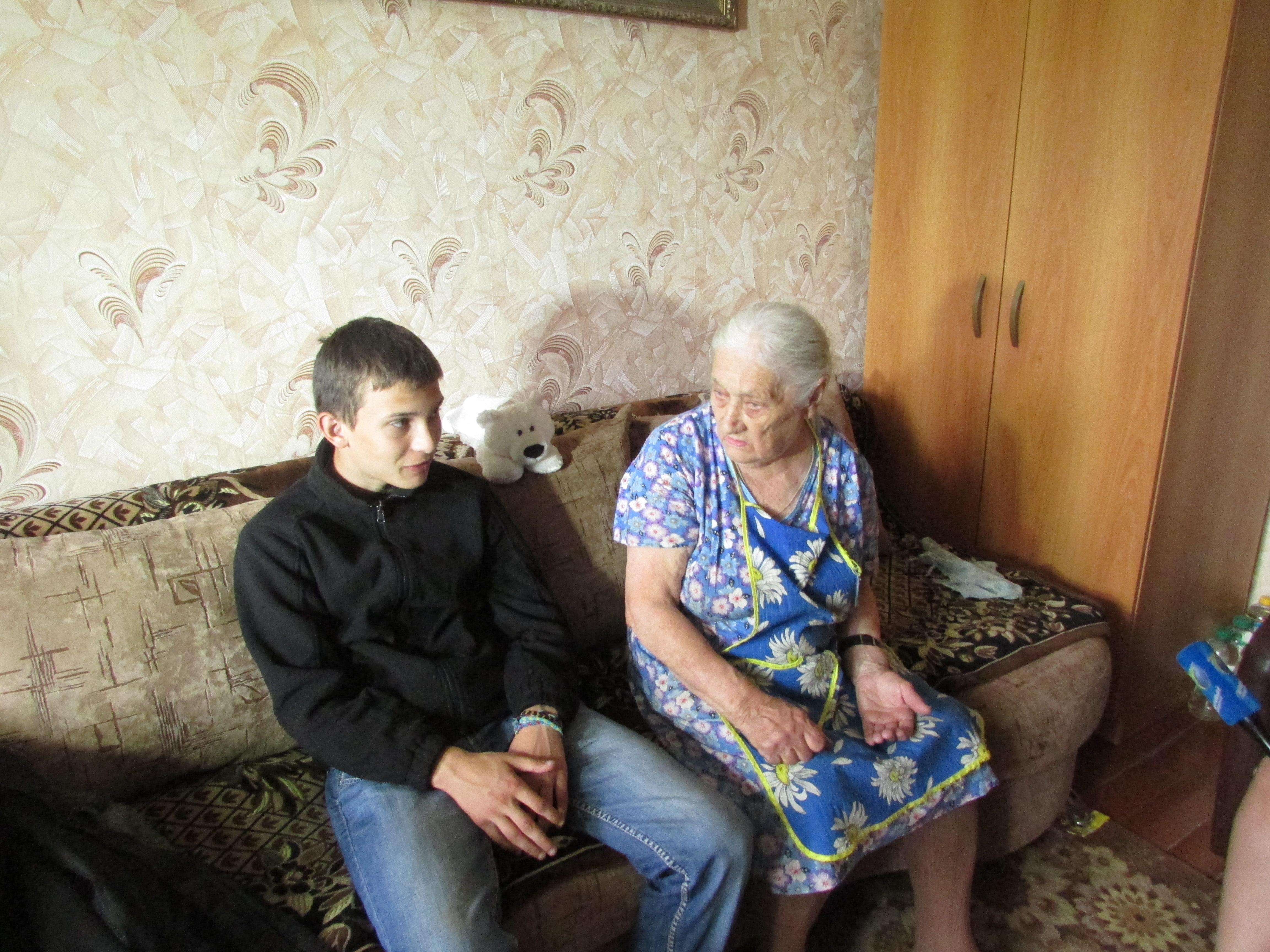 Секс мальчик сосвоей бабушкой