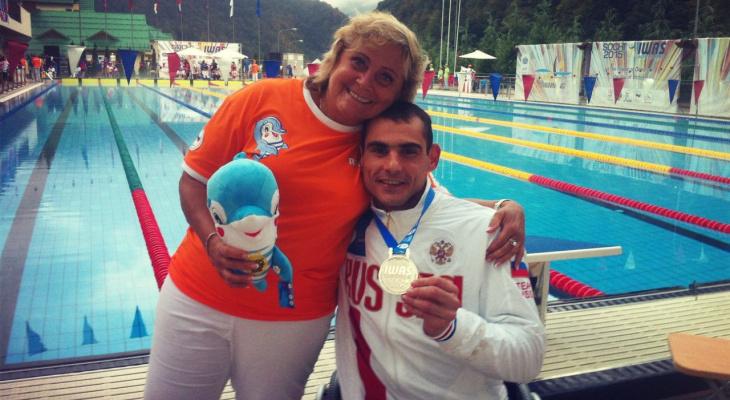 После разрыва спинного мозга нижегородец стал профессиональным  пловцом