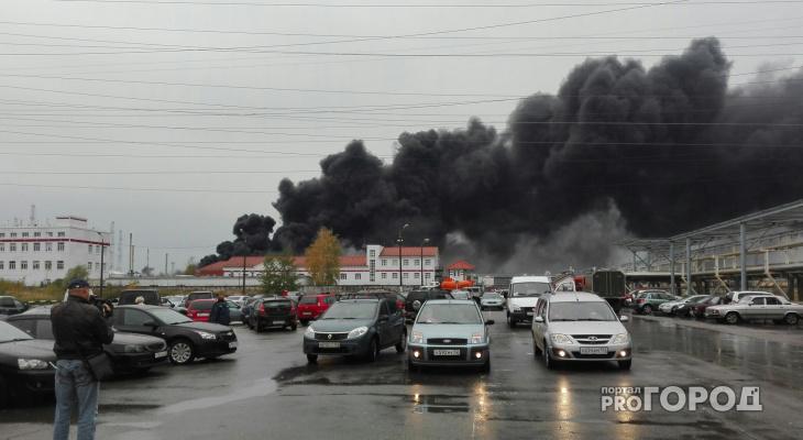 В Нижегородской области полыхает завод «Лукойл»: есть информация о погибших (фото, видео)