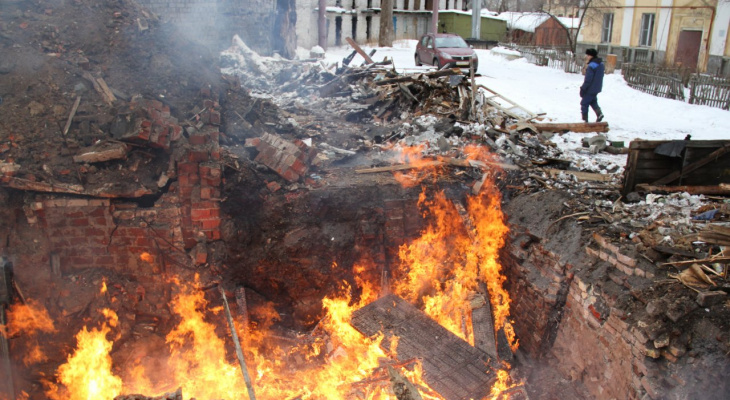 Трое мужчин погибли на пожарах в Нижегородской области