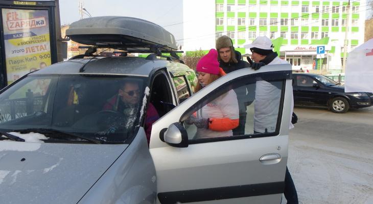 Ошибки нижегородских водителей, из-за которых происходит занос автомобиля зимой
