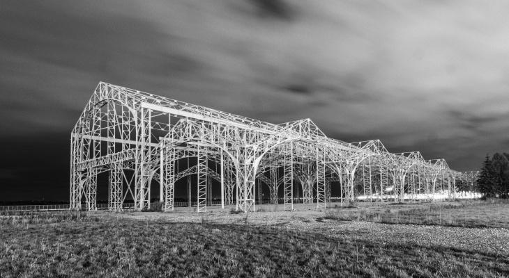 Пакгаузы на Стрелке станут объектом для световой инсталляции в апреля 2019 года