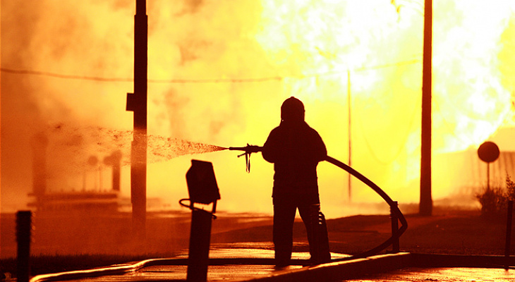 52-летний мужчина погиб на пожаре в Дальнеконстантинвском районе