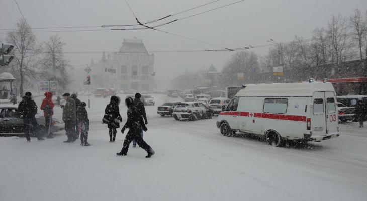Сильный ветер, метель и гололед ожидаются в Нижегородской области 12 и 13 февраля