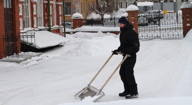 Авто не ставить! С нижегородских улиц вывезут снег в ночь с 12 на 13 февраля
