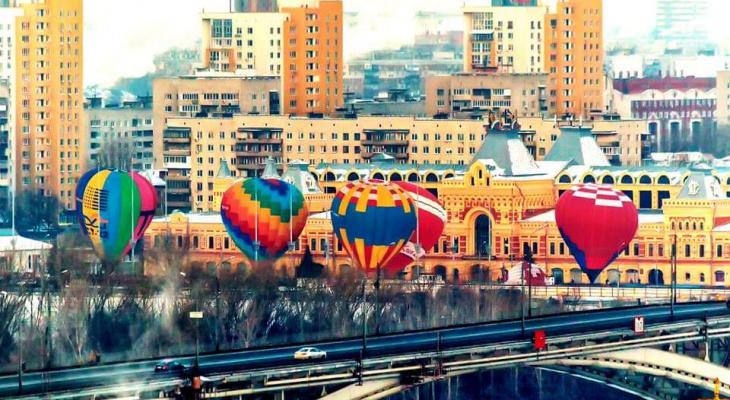 15 воздушных шаров поднимутся в небо с Нижегородской ярмарки 24 февраля
