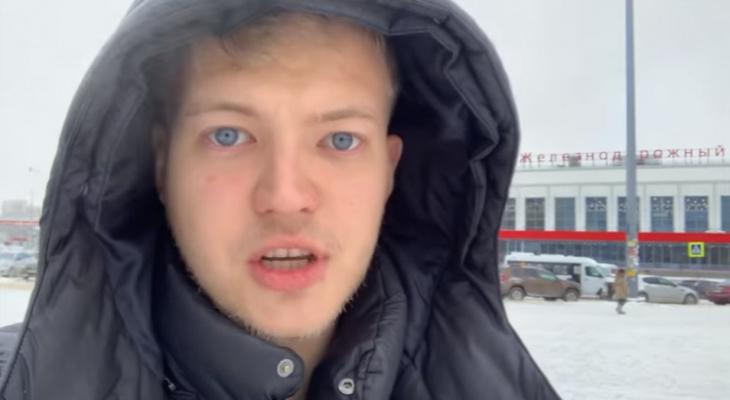 Дух захватывает от Волги и вида с канатной дороги: блогер из Англии приехал в Нижний (ВИДЕО)