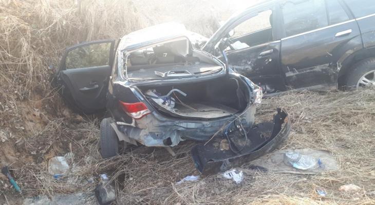 Женщина-водитель разбилась в ДТП в Нижегородской области (ФОТО)