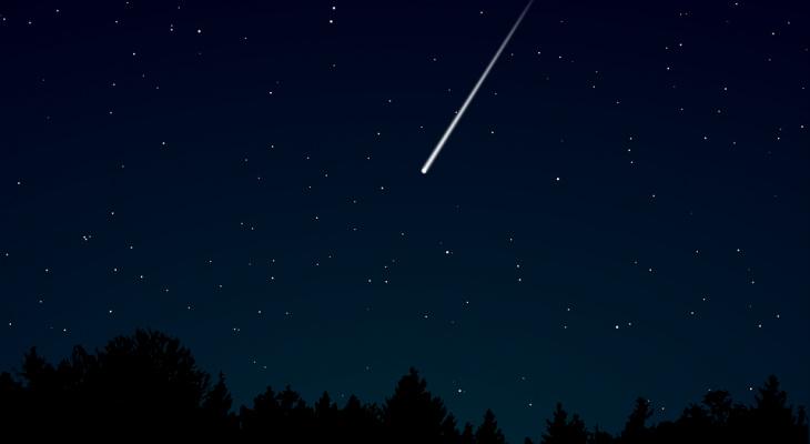 Нижегородцы смогут увидеть метеорный поток Лириды в ночь с 22 на 23 апреля