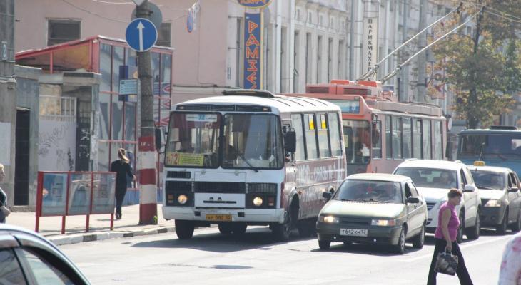 В центре Нижнего Новгорода изменится движение транспорта 12 апреля