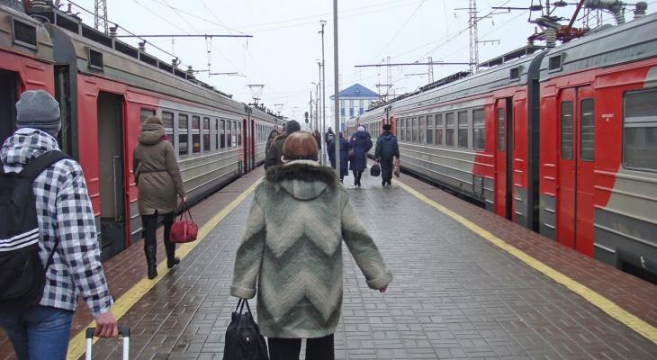Опубликовано полное расписание нижегородских электричек на 2019 год