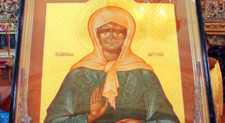 В Нижний Новгород прибыла икона Матроны Московской