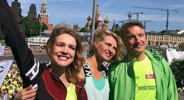 Наталья Водянова призывает нижегородцев участвовать в забеге