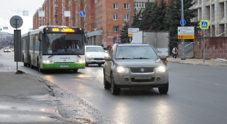 Схема движения транспорта изменится в Сормовском районе с 1 мая