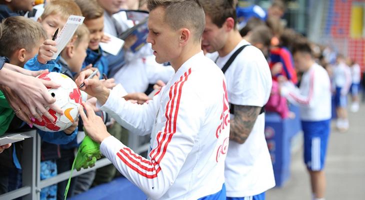 Известные российские футболисты устроят автограф-сессию для нижегородцев 9 июня