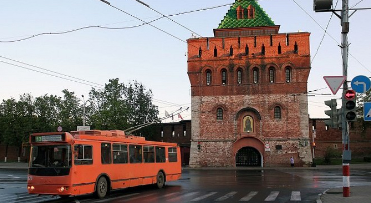 Движение транспорта изменится в центре Нижнего Новгорода 12 июня