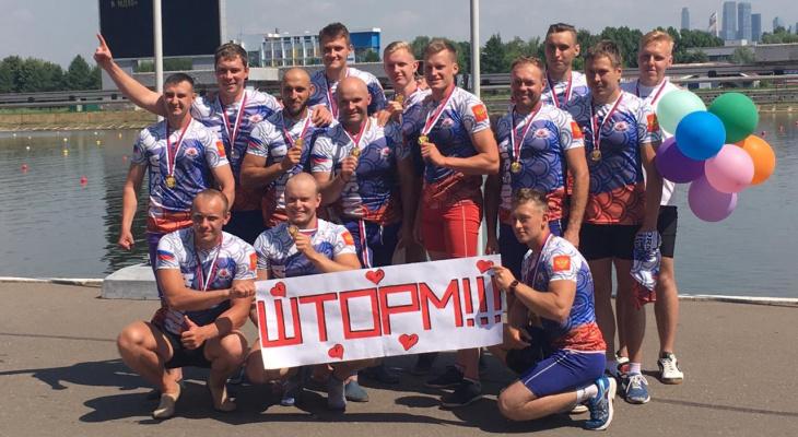Пять золотых медалей завоевали нижегородцы на чемпионате России «Дракон»