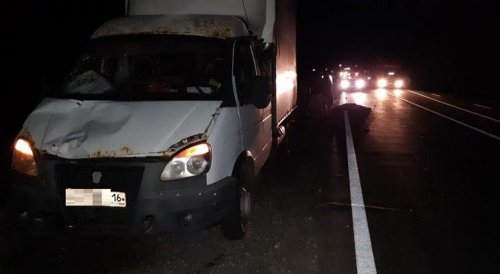 Пешеход-нарушитель погиб под колесами Газели на трассе в Нижегородской области
