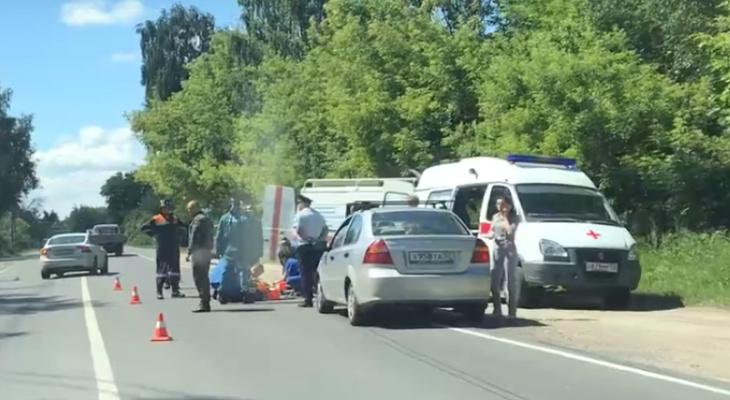 Авария произошла в Борском районе 16 июня (ВИДЕО)