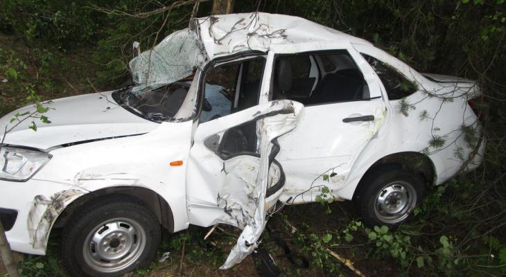 Пенсионер погиб в аварии в Воскресенском районе