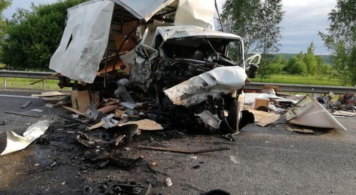 Автомобили превратились в груду железа: мужчина погиб в аварии в Лысковском районе (ФОТО)