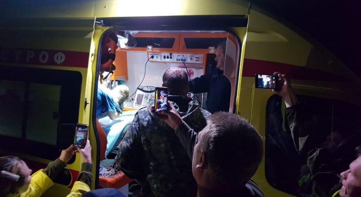 Найденная в лесу Вознесенского района Зарина Авгонова идет на поправку
