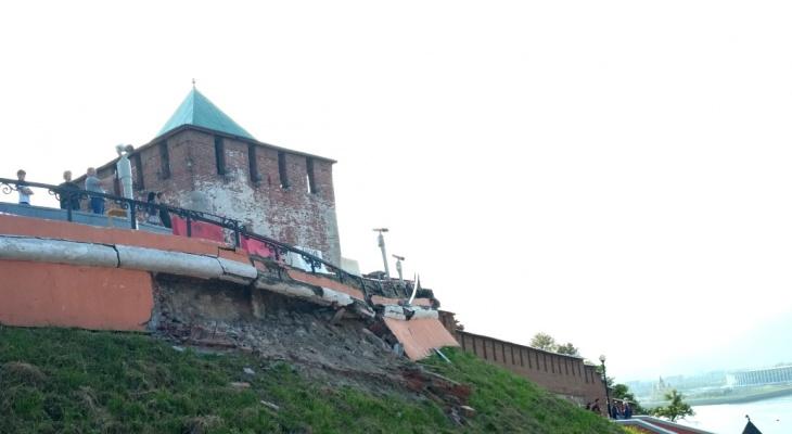 Частичному обрушению Чкаловской лестницы присвоен статус ЧС