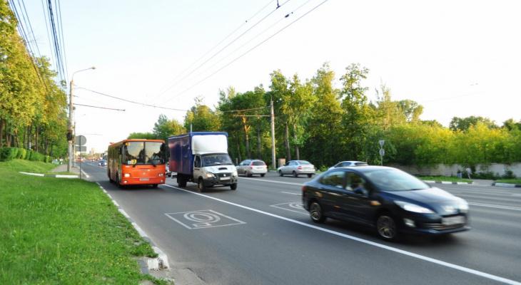 Движение транспорта ограничили на проспекте Гагарина