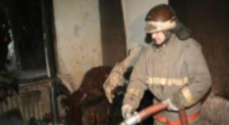 Два человека погибли в ночном пожаре в Кулебаках