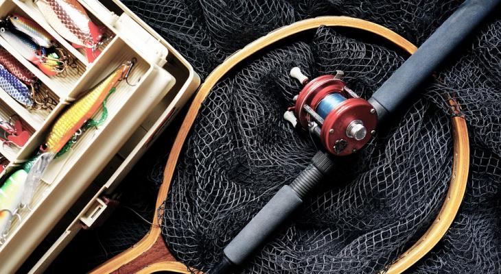 У хороших рыбаков и рыба хорошая клюет: Глеб Никитин и Дмитрий Азаров съездили на рыбалку (ФОТО)