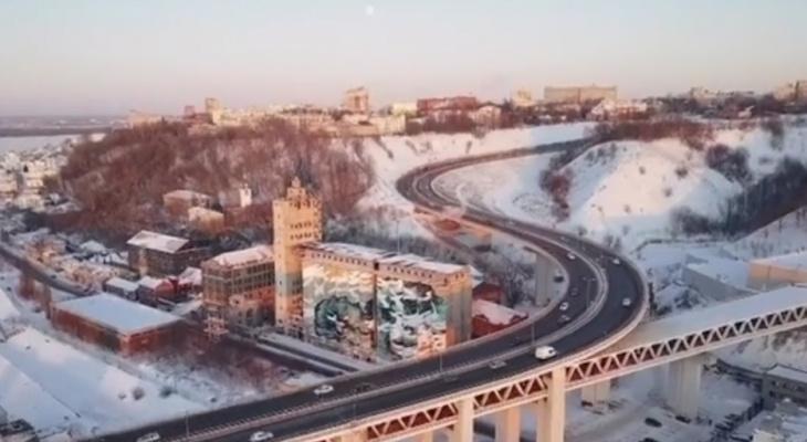 Квадрокоптер снял снос элеватора на улице Черниговской в Нижнем Новгороде