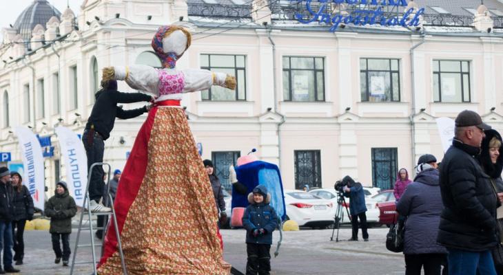 Масленичные гуляния пройдут на Нижегородской ярмарке 1 марта